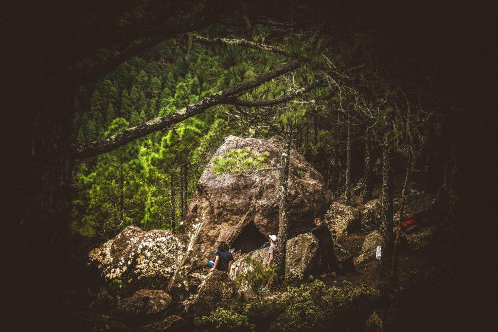 Cueva-refugio en Gran Canaria